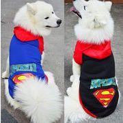 【自社工場】犬服 ペット服 スーパードッグ XS-9XL 大型犬 小型犬 パーカ