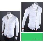 カジュアルシャツ メンズ ワイシャツ 半袖 無地 トップス コーデ 黒 白 メンズファッション