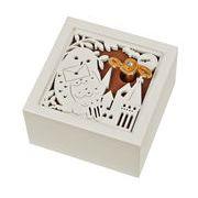【 木製オルゴール(フクロウ)♪プロローグ 】 【 木製Aメロディー 】