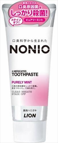 NONIOハミガキ ピュアリーミント 130G 【 ライオン 】 【 歯磨き 】
