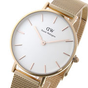 ダニエル ウェリントン Daniel Wellington 腕時計 レディース 32mm メルローズ/ホワイト DW00100163