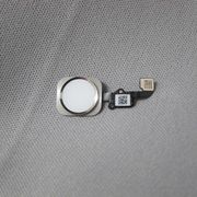 iPhone 6/6Plus ホームボタン+ケーブル (シルバー) 銀 アイフォーン 新品