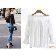 【大きいサイズXL-5XL】ファッション/人気Tシャツ♪ホワイト/ブラック2色展開◆