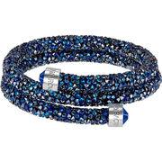 スワロフスキー バングル SWAROVSKI 正規品取扱店 5255903 Crystaldust ブルー レディース アクセサリー