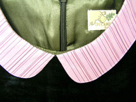 4ba08db27ba0a 高級ベロアのノースリーブドレス(濠Du)100-110cm アパレル 有限会社 ...