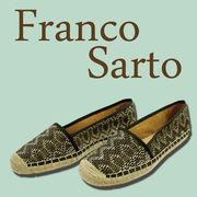 【Franco  Sarto】ジュートフラットシューズ D02C