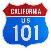 トラフィックサインボード CALIFORNIA 101