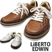 リベルト エドウイン「EDWIN」メンズ カジュアル スニーカー