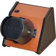 【販売後注文対応】 高級ワインダー大手ORBITA 1本用ウォッチワインダー スパルタ1ブラウン