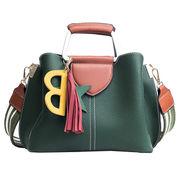 秋冬 新しいデザイン メッセンジャーバッグ 欧米 ヒットカラー 何でも似合う 大型バッグ