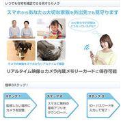 【見守りカメラ】DCアダプター型Wi-Fiダイレクトカメラ★不審者や侵入者対策に
