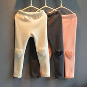 冬服 新しいデザイン 韓国風 キッズ洋服 女児 赤ちゃん 裏起毛 手厚い 児童 レギンス