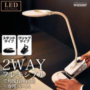 wasser15★2WAYクリップ式LEDライト