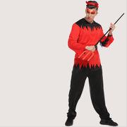 激安☆仮装★ダンス衣装★ハロウィン★cosplay★ゾンビ★カチューシャ+シャツ+ズボン+ベルト