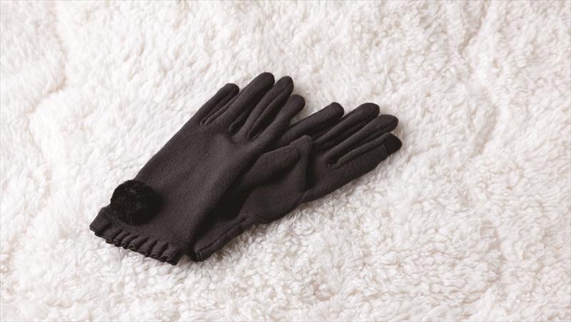 フェイクファースマホタッチグローブ /手袋 スマホ操作可 ファッション グローブ あったか
