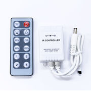 LEDテープ用 リモートコントローラー IRボックス付属 3528 5050 明るさの調整自由自在
