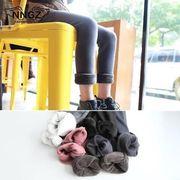 韓国風 新品 冬 新しいデザイン 児童 女児 赤ちゃん レギンス 裏起毛 手厚い 暖かい