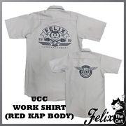 [FELIX] UCCワークシャツ・シルバー・RED KAP(レッドキャップ)