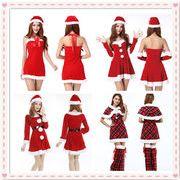 クリスマス衣装 レディース コスプレ 変装 6# 19# 30# 43#  サンタコスチューム