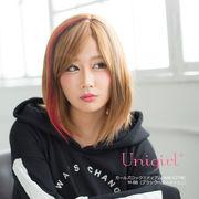 【ユニガール】ギャル系3トーンメッシュウィッグ☆ブロンディア『ガールズロックミディアム』