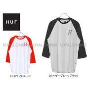 【ハフ】 TS00124 Tシャツ クラシック H ラグラン CLASSIC H RAGLAN 七分袖 全2色 メンズ
