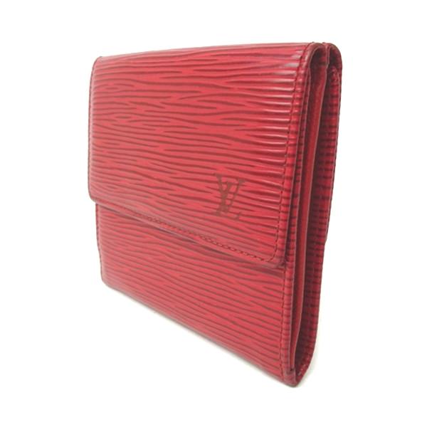 buy online 45a18 e4ac9 ルイヴィトン 財布 二つ折り財布 折り財布 エピ レディース 赤 ...