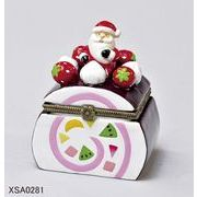 <AMANO>【クリスマス】【ケーキヒンジボックス】3種