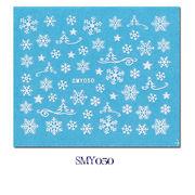 雪の結晶 3Dネイルシール クリスマス ステッカー