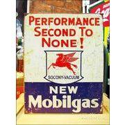 アメリカンブリキ看板 モービル/Mobil ひけをとらない性能