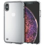 エレコム iPhone XS/ハイブリッドケース/クリア PM-A18BHVCCR