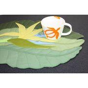 ハワイアンキルト Hawaiian Quilt  ランチョンマット『極楽鳥花』/ハワイアン小物 ハワイアン雑貨