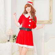 【即日出荷】ベルト サンタ衣装 クリスマス/コスプレ【9422/3】