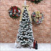 クリスマスツリー フォールディング スノーツリー 150cm/180cm/210cm