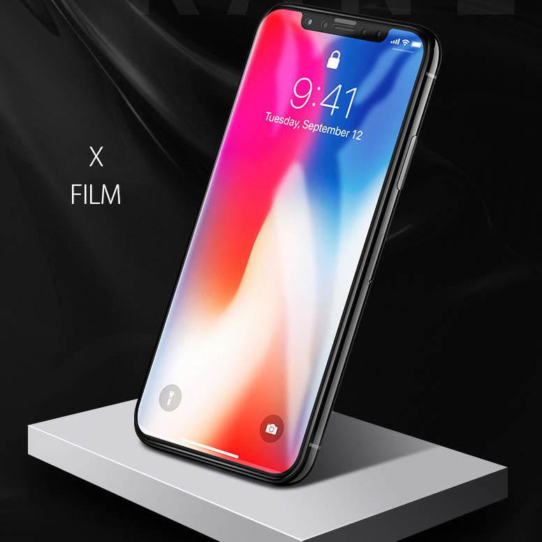 iPhone8 8plus 液晶保護ガラスフィルム 薄さ0.26mm 表面硬度9H 2.5D ラウンドエッジ フルカバー 4色