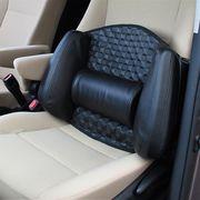 シンプルかつクールな車内空間を。ソニックレザーランバークッション