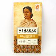 メナカオ ミルクチョコレート45% マダガスカルバニラ 75G