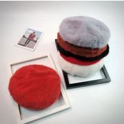 ★新品登場★レディースファッション アクセサリー 帽子 ベレー帽 ハット 加厚 ファー