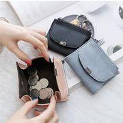 レディース 財布 コインケース 携帯ラクラク コンパクト オシャレ カワイイ 便利 5色