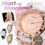 【L'etoile】ハートモチーフ レディース腕時計 OSD81