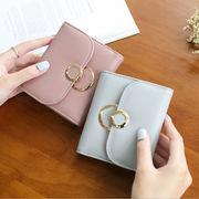 レディースファッション 財布 二つ折り 携帯ラクラク コンパクト オシャレ カワイイ 5色