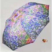 <AMANO>【折りたたみ傘】モネ スプリングガーデン