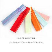 【収納箱】梱包箱に!プレゼントに!可愛いリボン付♪カラフル/ネックレスケース