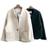 レディースアウター 2色 カーディガン トレンチコート ジャケット ショート丈 人気 着痩せ ファッション