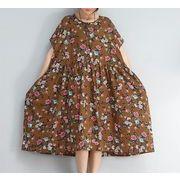 【春夏新作】ファッション/人気ワンピース♪グリーン/イエロー2色展開◆