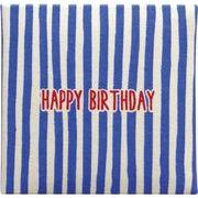 現代百貨 ミニ メッセージブック HAPPY BIRTHDAY ブルー