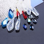 1個 不規則 シリコンモールド UVレジンモールド 宝石型 鏡面 ゴム型  イヤリングやペンダントヘッド用