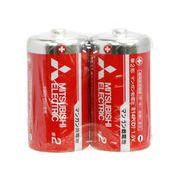 三菱(赤)マンガン乾電池 単2 2p