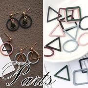 BLHW151016☆5000以上【送料無料】 フランス 幾何学模様 デコパーツ★アクセパーツペンダント