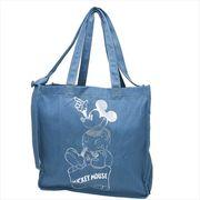 《新生活》ミッキーマウス TALL トール デニム2wayショルダートート/Otona Disney