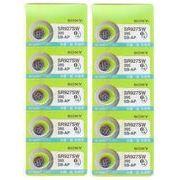 液漏れ補償付きソニー酸化銀電池 SR927SW 395 純正品 無水銀(0%Mercury) SR927W互換品